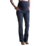 Jean de maternité ligne bootcut, montage haut. Entrejambe 81 cm. 2