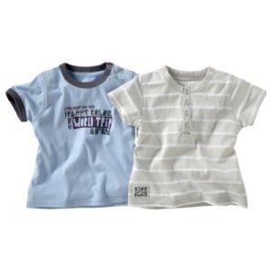 T-shirt bébé garçon (lot de 2)