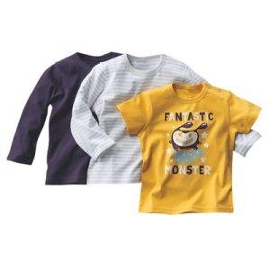 T-shirt bébé garçon (lot de 3)