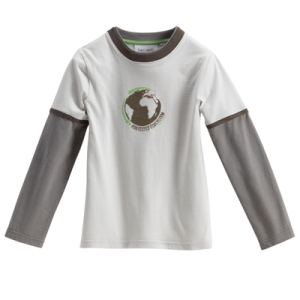 T-shirt pur coton bio garçon
